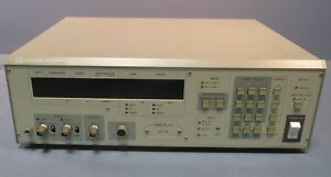 Nf Corp Venable Industries 5010a Frequency Response Analyzer Used