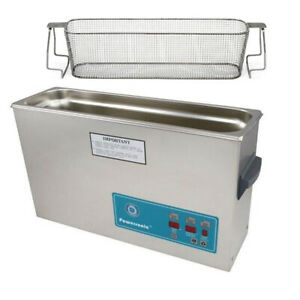 Crest P1200d 45 Ultrasonic Cleaner W Power Control mesh Basket