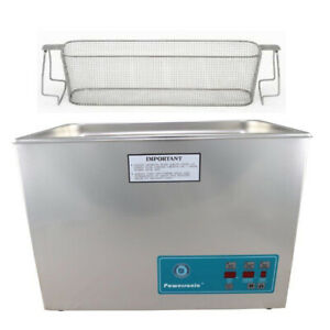 Crest P1800d 45 Ultrasonic Cleaner W Power Control perf Basket