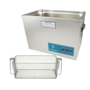 Crest P2600d 45 Ultrasonic Cleaner W Power Control mesh Basket