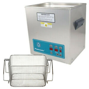 Crest P1100d 45 Ultrasonic Cleaner W Power Control mesh Basket