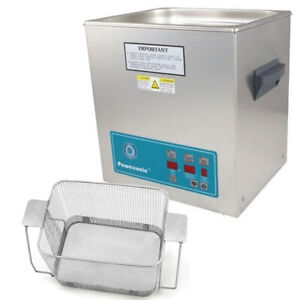 Crest P1100d 132 Ultrasonic Cleaner W Power Control perf Basket
