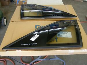 Nos 1987 1993 Ford Mustang Hatchback Quarter Windows 1988 1989 1990 1991 1992