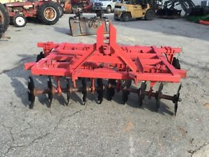 Very Nice 22 Disc 3 Point Hitch Adjustable Disc Harrow