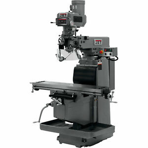 Jet Variable Speed Vertical Milling Machine W x Powerfeed 12x54in 230 460v