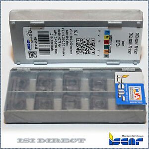 Cngg 120401 Pp Ic907 Iscar 10 Inserts Factory Pack