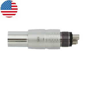 Usa Coxo Dental Fiber Optic Led Quick Coupler For Nsk Machilite Style Handpiece