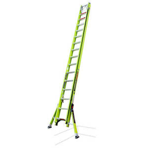Little Giant 17632 32 foot Hyperlite Ladder W Cable Hook V rung And Claw