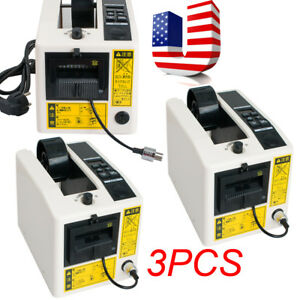 3 Automatic Tape Dispensers Adhesive Tape Cutter Packaging Machine 110v Usps