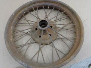 Model T Ford 1926 1927 Wire Wheel Mt 2123