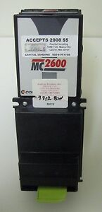Coinco Mc2621 120v Bill Acceptor Validator American Changer Laundry Car Wash