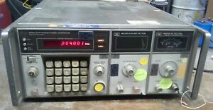 Hewlett Packard Hp 8660c Synthesized Signal Generator W 86631b And 86603a