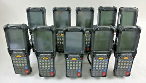 Symbol Technologies Mc9090 gf0jbsga22r Handheld Scanner Lot Of 10 no Battery