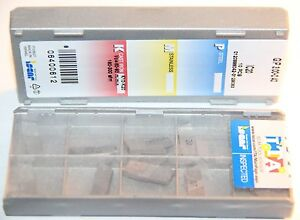 Gip 3 00 0 40 Ic20 Iscar 10 Inserts Factory Pack