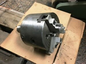 6 5 Pratt Brunerd 3 jaw Power Chuck With 16c Mount 9131 31723