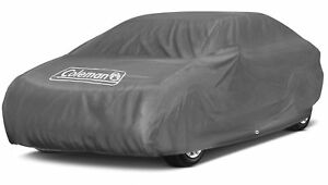 Coleman Superior Car Cover Indoor Outdoor Waterproof Dust Sun Scratch Resistant