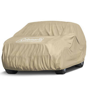 Coleman Executive Suv Cover Indoor Outdoor Waterproof Dust Sun Scratch Resistant