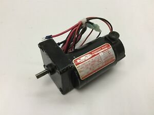 Dayton 4z538a Gearmotor Voltage 90vdc Input Motor Power 1 30hp Shaft 8mm