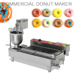 hot commercial Electric Auto Doughnut Making Machine Donut Baking Maker 3 Molds