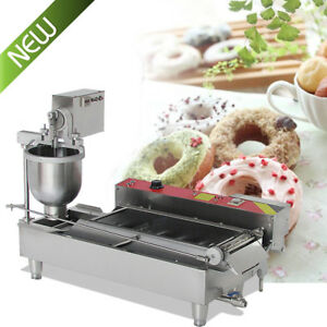 Delicious Commercial Automatic Donut Maker Making Machine 3 Mold wide Oil Tank