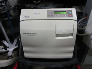 Midmark Ritter Ultraclave M9 Autoclave Sterilizer 35 Cycles Tested Warranty