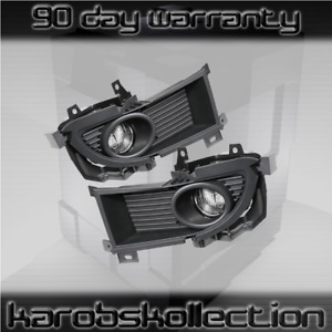 2004 2006 Mitsubishi Lancer Chrome Housing Fog Lights Jdm Factory Replacement