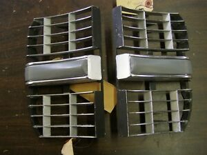 Nos Oem Ford 1969 Galaxie 500 Xl Ltd Outer Grille Sections Mouldings