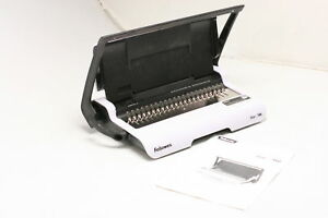 Fellowes Binding Machine Star Comb Storage 5006501 Loads Vertically Accurate