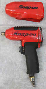Snap On Tools Mg325 3 8 Drive Air Impact Wrench Red Black 325 Ft Lb Max Torque