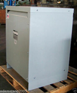 Square D 25kva Transformer 1 Single Phase 240v 480v 120v 240v Delta 220v 230v