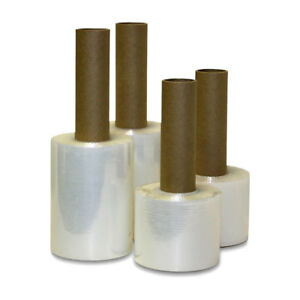 Extended Core Shrink Wrap Stretch Banding Film 5 Inches X 1000 Feet 12 Rolls
