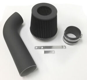 Coated Black For 1975 1983 Nissan Datsun 280z 280zx 2 8l I6 Nt Cold Air Intake