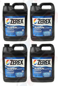 4pk Zerex Coolant Antifreeze For Honda Acura Civic Accord Prelude Odyssey Cr v