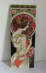 Ice Ag French Art Nouveau Style Ceramic Wall Tile