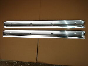 Mopar 68 69 70 Charger Coronet Road Runner Gtx Satellite Door Sill Plates New