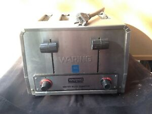 Waring Wct800 Commercial Heavy Duty 4 Slot Toaster 120v