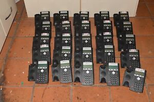 Polycom Soundpoint Ip 335 Ip335 Lot Of 25 Voip Telephones W 25 Handsets e5