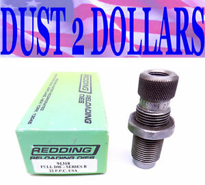 Redding 91391 Full Length Sizing Body Die for the 22 PPC Caliber In The Box