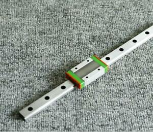 Linear Rail Guide Mgn12 550mm Sliding Guide With Mgn12h Carriage Block For Cnc