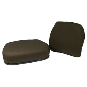 John Deere Brown Fabric Cushion Seat Fits Models 2750 2950 3150 3155 3255 3055