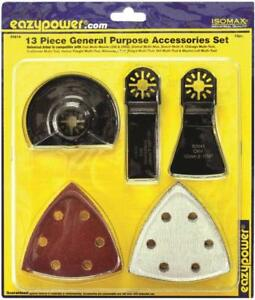 Eazypower 50614 Oscillating Tool Accessories 4 13pc Set