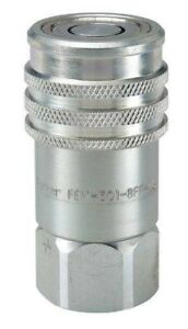 Parker Fem 501 10fo nl Valved Hyd Quick Coupler 7 8 14 Unf Female