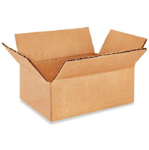 200 5x4x2 Cardboard Paper Boxes Mailing Packing Shipping Box Corrugated Carton