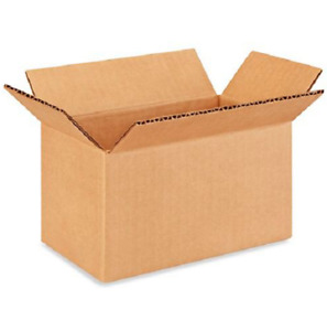 25 7x4x4 Cardboard Paper Boxes Mailing Packing Shipping Box Corrugated Carton