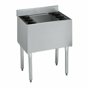 Underbar Ice Bin 18 x24 7 Circuit Cold Plate Bottle Holders Nsf Approved