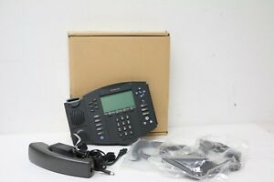 New Polycom Soundpoint Ip601 Sip 6 line Voip Office Phone 2200 11631 001