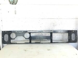 Jeep Yj Wrangler 87 95 Metal Dash Frame Plate Dashboard Clean