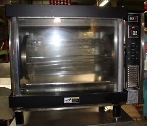 Used Bki Countertop Chicken Rotisserie Oven Model Dr 34