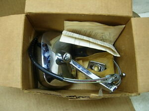 Nos 73 77 Gm A B Body Lh Remote Door Mirror Gm 995366 Chevelle Grand Am Impala