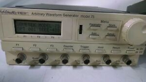Wavetek 75 Arbitrary Waveform Generator With Option 001 Used